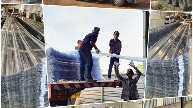 จัดส่งแผ่นโพลีคาร์บอเนตถึงที่หมายให้ลูกค้าทั่วประเทศ